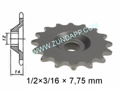 Kettingwielen / Kettenrad / Chain sprocket